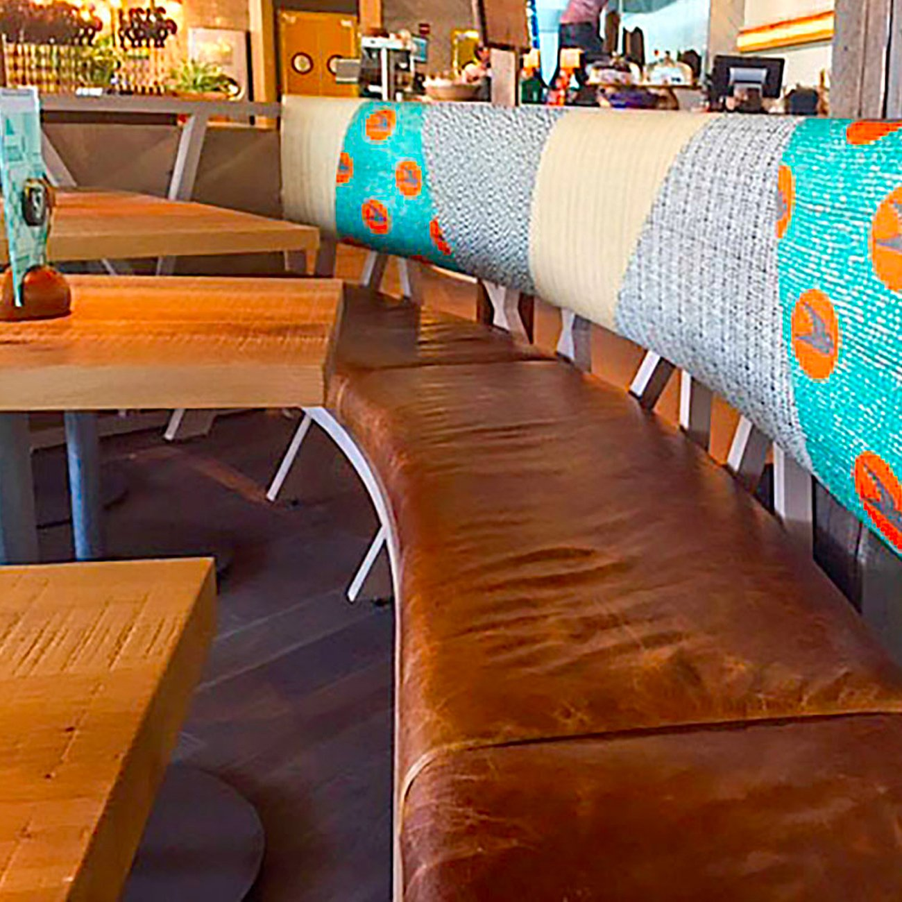 Nando's Peri Peri Chicken Restaurant furniture