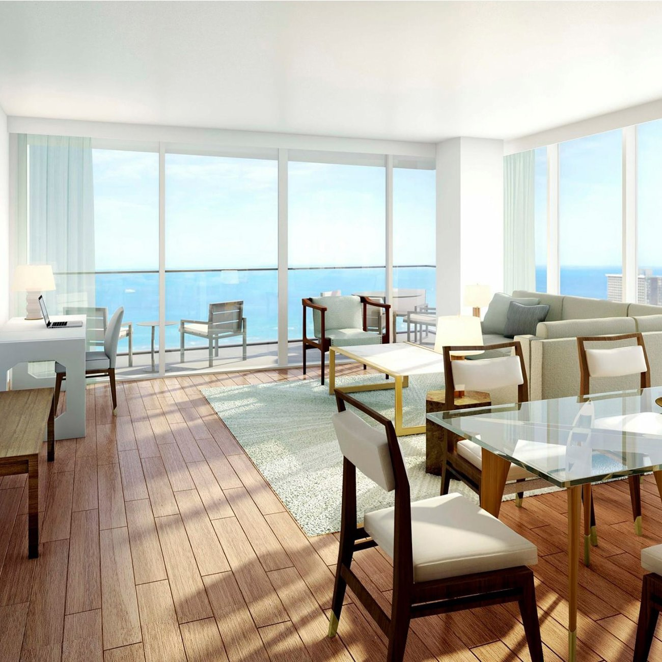 The Ritz Carlton Residences - Waikiki Beach - CIX Direct Furnishings